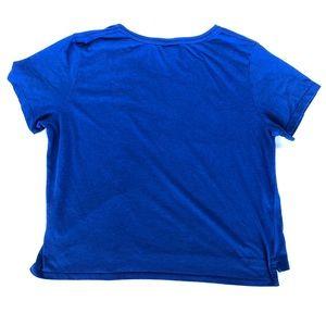Nike Tops - Nike blue sports T shirt